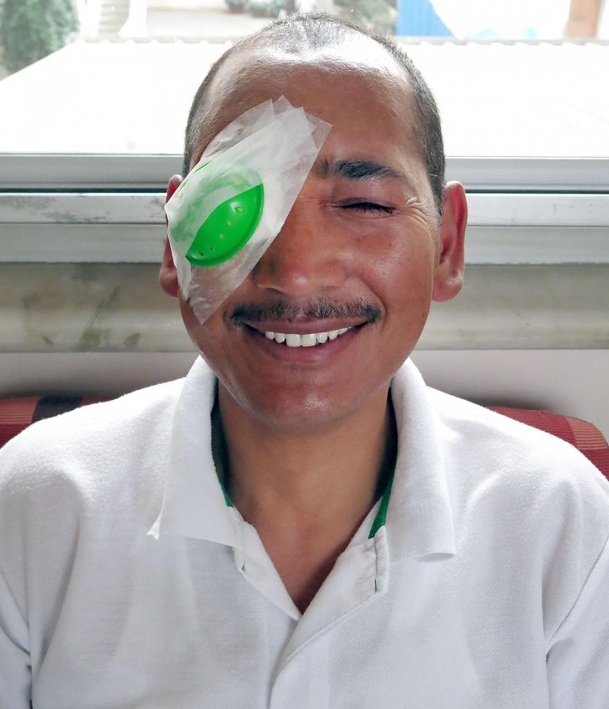 Tsering Gyatso and Dr Sangwan